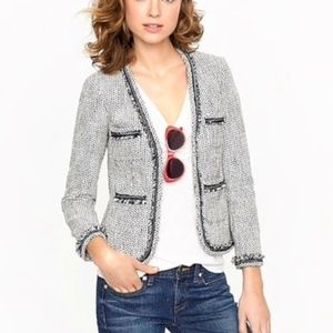 J.Crew Terrazo Tweed Blazer Jacket